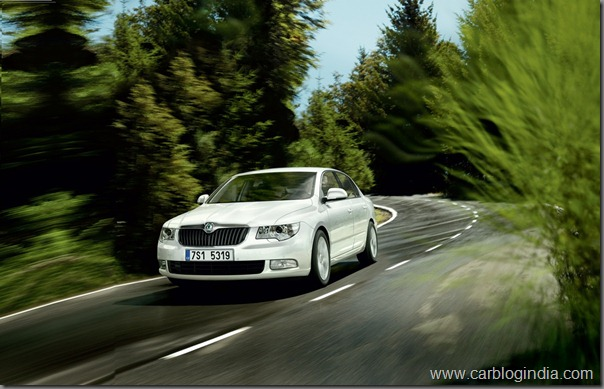 New Skoda Superb 1.8 TSI MT