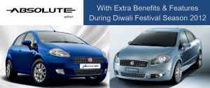 Fiat Linea and Punto Absolute Edition With Extra Features And Benefits